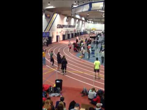 2015 National Christian College Championship indoor track m