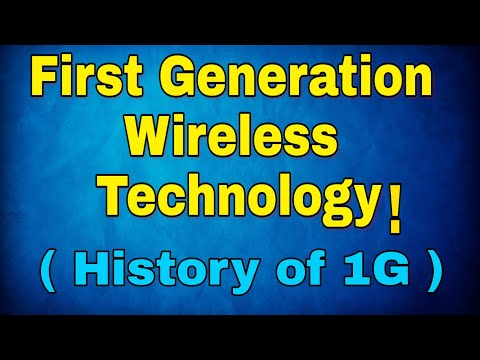 History of First Generation Wireless Technology || 1G Technology ||  Explained || PMG technical