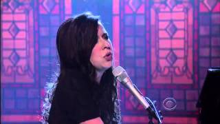 The Civil Wars - Poison & Wine on David Letterman 10/26/2011