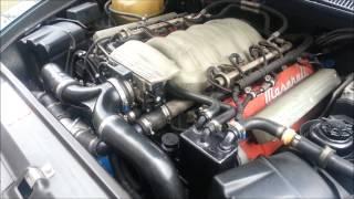 Maserati 3200 GT cold start ups & sound!