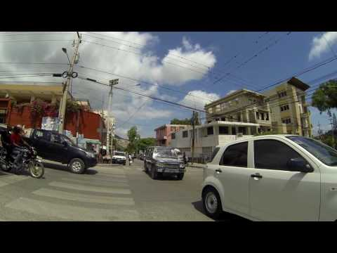 A Long Walk in Pétionville. Haiti