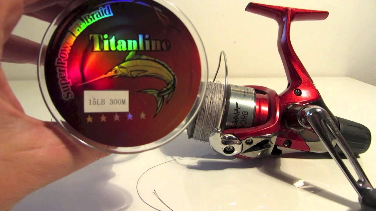 Review cheap braid fishing line from china on ebay for Fishing line for sale