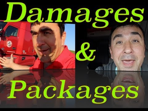 Damages and Packages, Trucker Jims Truckin Journey