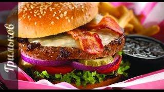 Бургер с соусом Джек Дэниэлс | Грильков приготовит