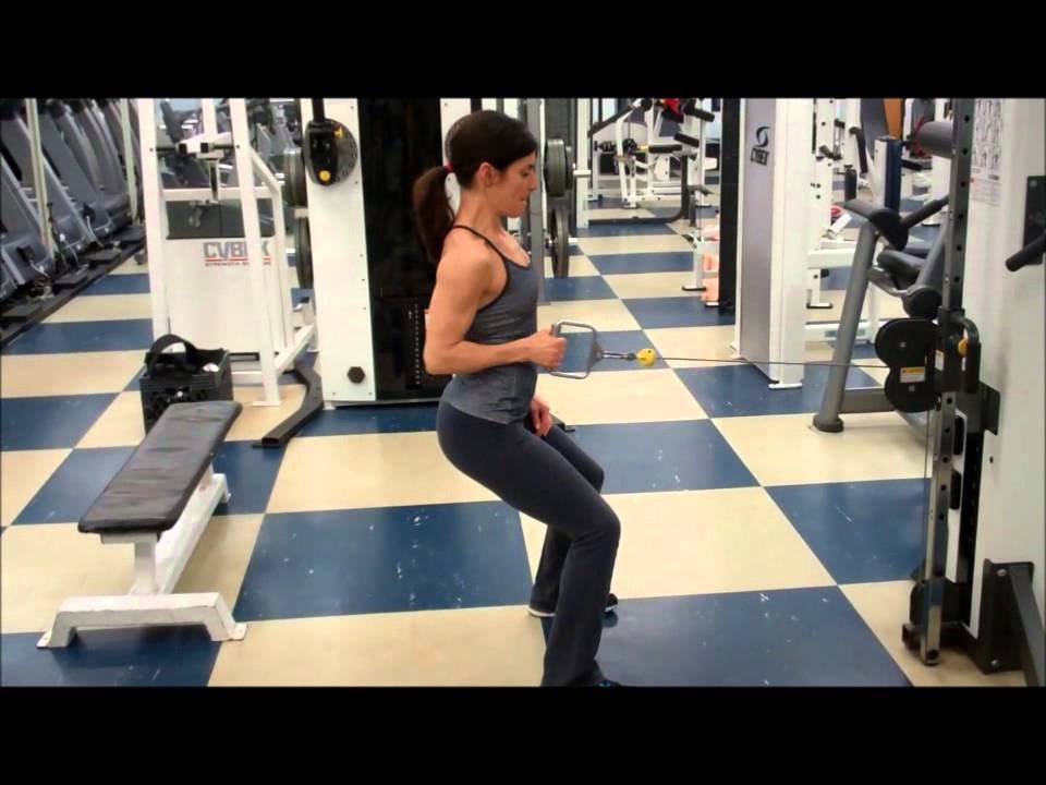 Exercise First Standing Single Arm Cable Row Youtube