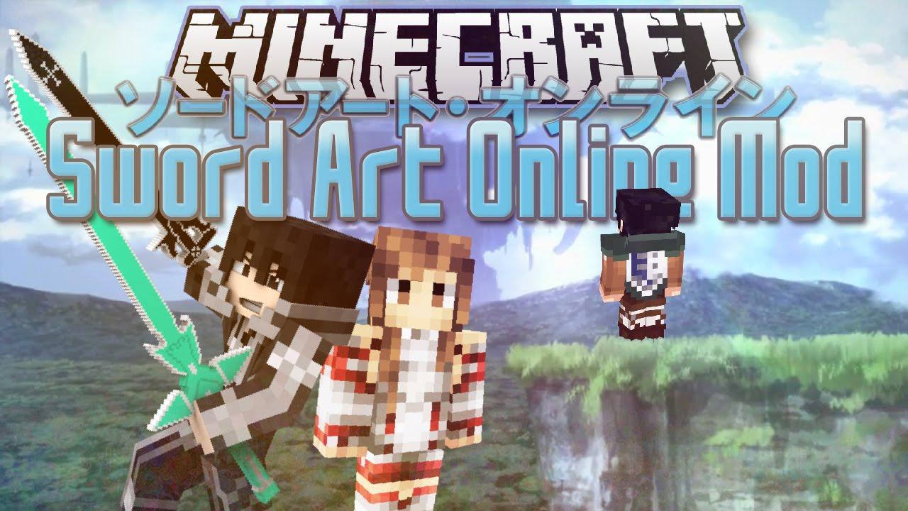 Minecraft ITA - Mod: SWORD ART ONLINE Mod // Armi ...