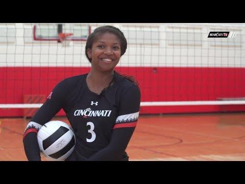 Cincinnati Volleyball: Get To Know Maya Muldrow