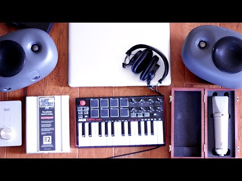 My Portable Studio Setup 2016 | Mobile Recording Studio