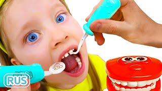 Dentist Song на русском | Детская песня про дантиста | Песни для детей с Милли и Семья