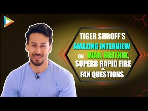 UNFILTERED – Tiger Shroff On War | Hrithik Roshan | Zabardust Rapid Fire \u0026 Fan Questions