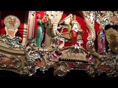 38er Ruth & Sohn Concert- Fair Organ - Krughoff Collection plays 'Der fliegende Holländer'