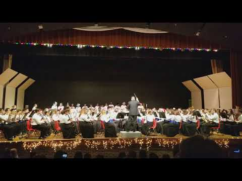 WWT Combined Bands - Holiday Band Concert - 12/12/2017