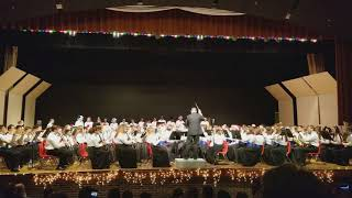 WWT Combined Bands Holiday Band Concert 12 12 2017