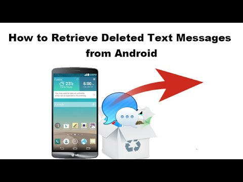 how to receive deleted messages