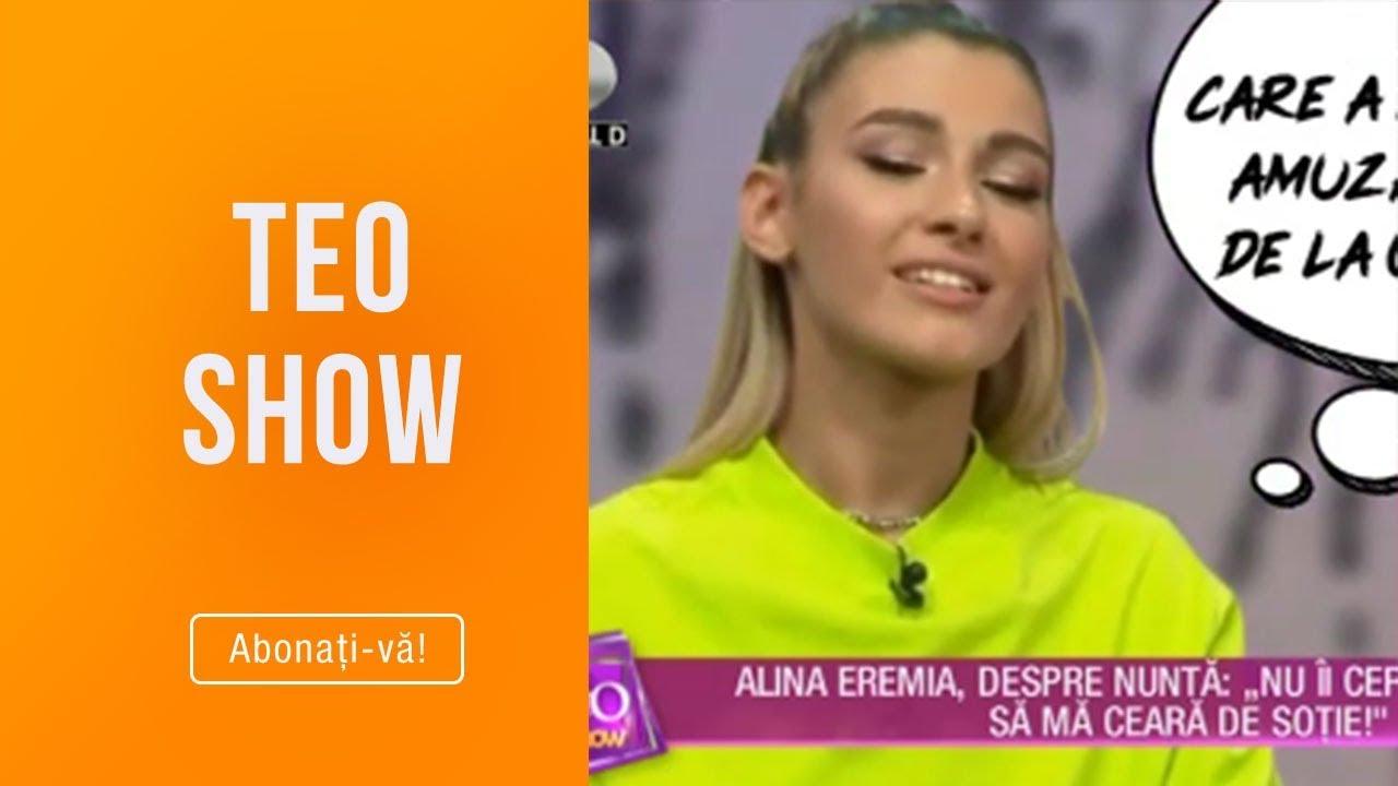 Teo Show (21.03.2019) - Alina Eremia a povestit prin ce intamplari comice a trecut!