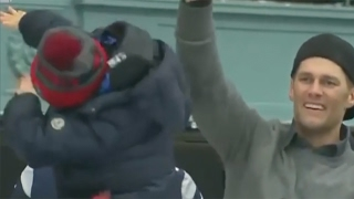 tom brady s son hits dab at patriots super bowl 51 victory parade