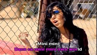 Repeat youtube video INDILA  Mini World Karaoké