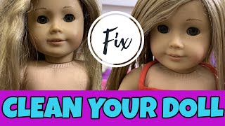 Fixing An Old American Girl Doll