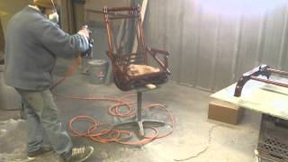 Antique Seng Rocker From The 1800s Timeless Arts Refinishing Grand Rapids Mi 616 453 8309
