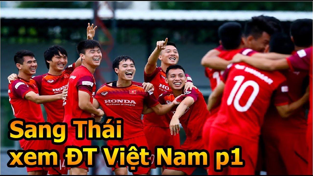 Thử Thách Bóng Đá đi thái xem Công Phượng , Quang Hải , Đoàn Văn Hậu và ĐT Việt Nam vs Thái Lan