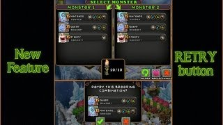 feature RETRY button in MY SINGING MONSTERS :) Diane Delsig 64094bi
