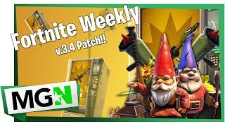 Fortnite Weekly | Patch 3.4, Vending Machines, Week 7 Battle Pass Challenges