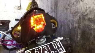 Modifikasi Hazard Lamp YAMAHA R15 2014 (HANDMADE)