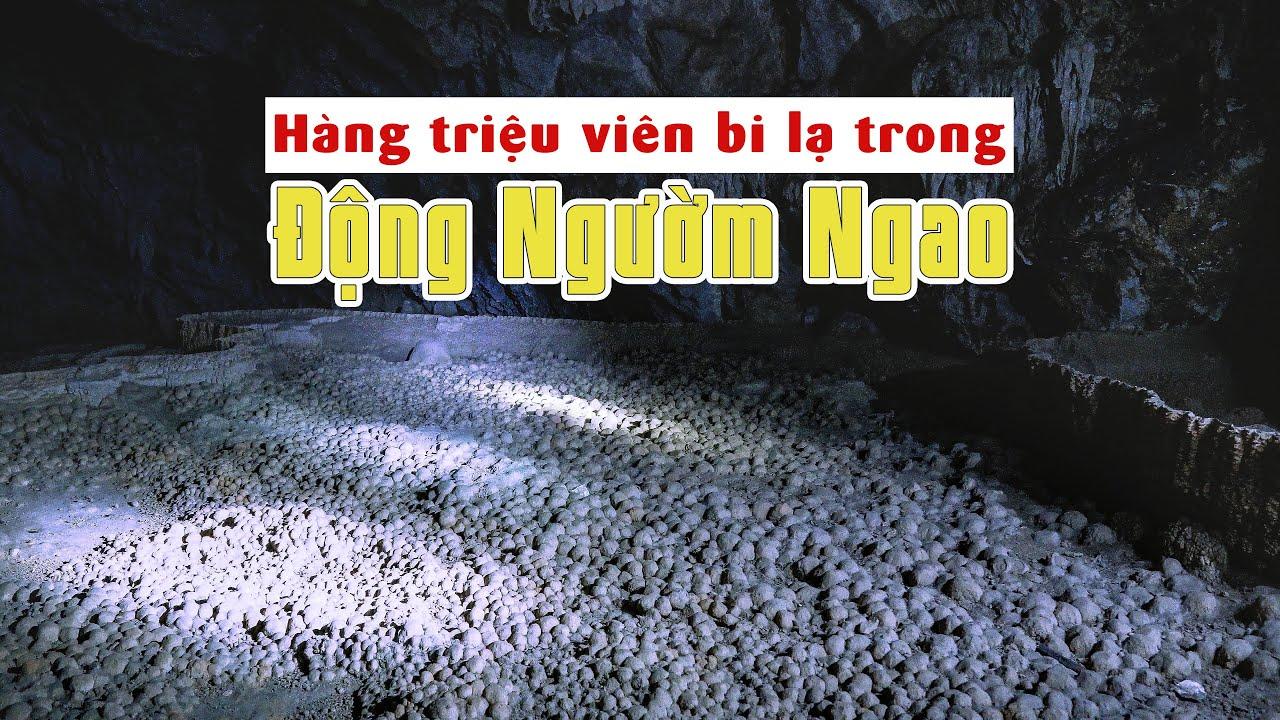 Phát hiện hàng triệu viên bi đá lạ trong động Ngườm Ngao phụ ít người biết tới - Cao Bang Travel