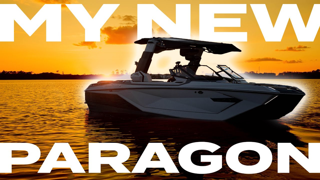 Nautique G23 Paragon - First set behind MY NEW BOAT