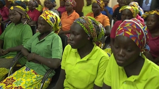 Parents of Chibok girls find out if their daughters are among 82 girls freed