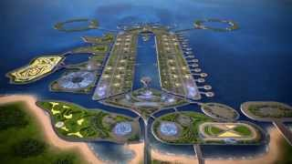 Khazar Island-Baku,Azerbaijan