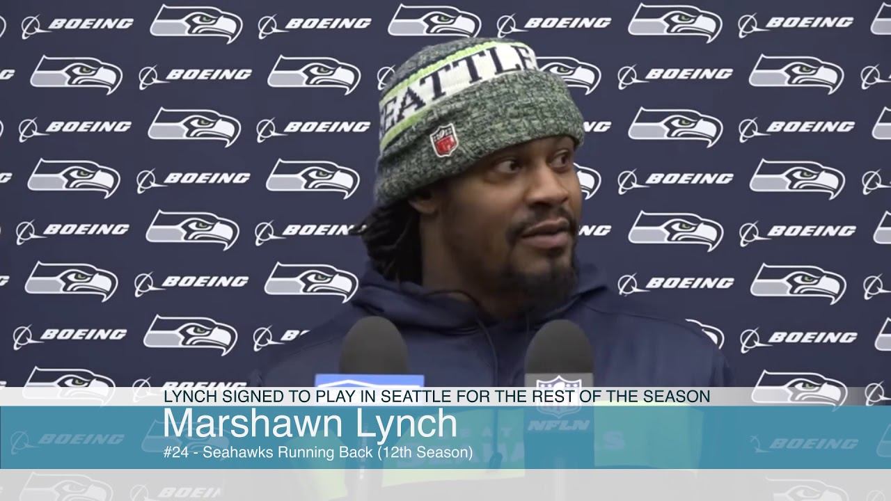 Marshawn Lynch on Being Back 2019-12-26