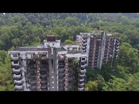ABANDONED Highland Towers Collapsed Disaster ( haunted ? )