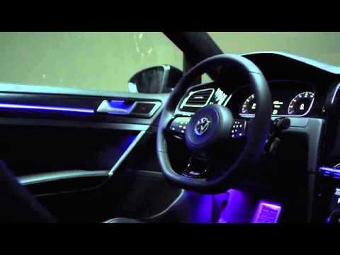 Golf r touch luz y color de ambiente interior youtube - Luz y ambiente ...