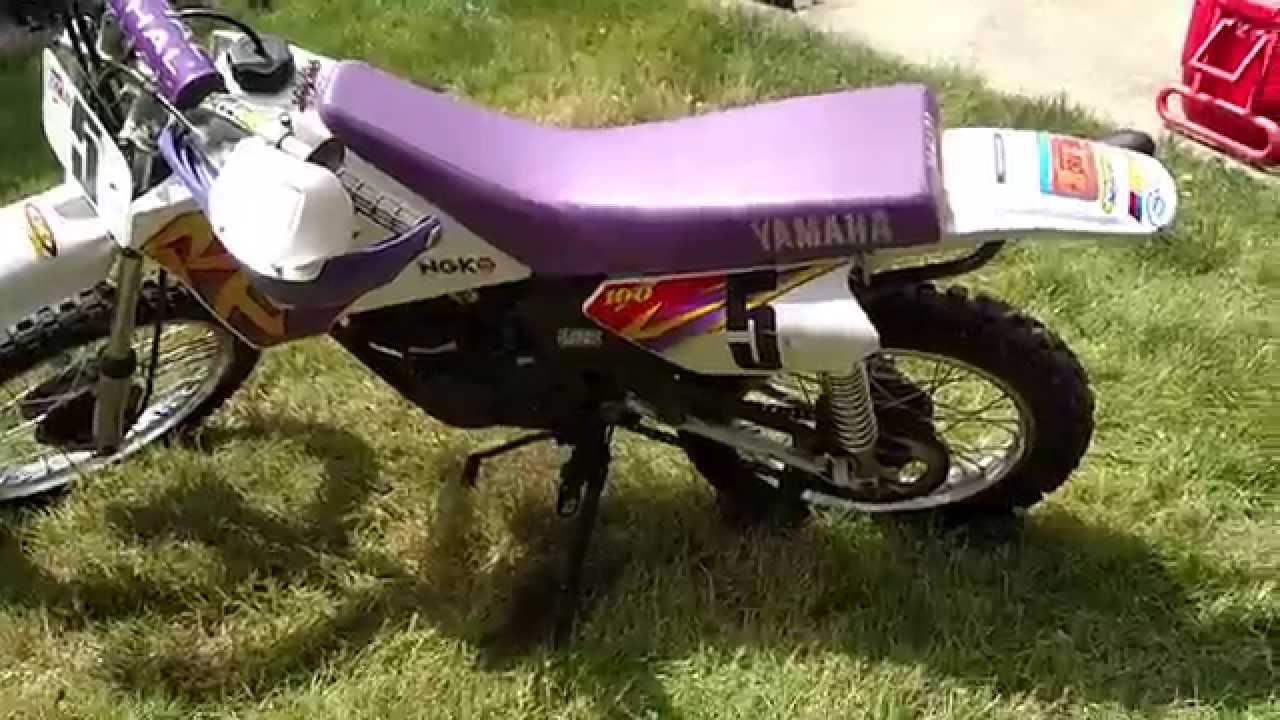 Custom 1995 Yamaha Rt100 Trail Dirt Bike W Raised Seat Height
