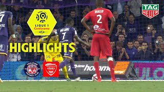 Toulouse FC - Nîmes Olympique ( 1-0 ) - Highlights - (TFC - NIMES) / 2018-19