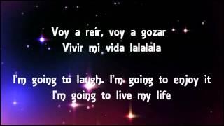 Repeat youtube video Marc Anthony: Vivir mi vida (Lyrics in English & Spanish)