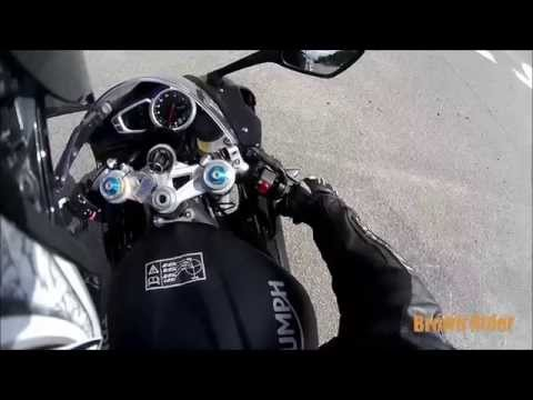 Triumph Daytona R Review and Test Ride by Brown Rider
