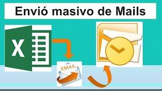 Envio masivo de Mails desde Excel muy facil (VBA, macros)