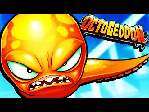 TASTY Octopus DESTROYS EVERYTHING! - Octogeddon Gameplay - Game like Tasty Blue
