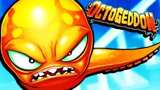 TASTY Octopus DESTROYS EVERYTHING! - Octogeddon Gameplay - Game like Tasty Blue
