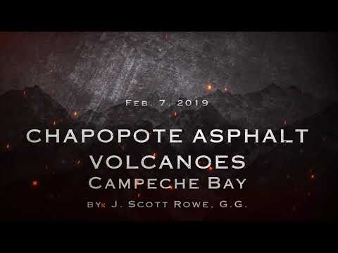 March 22, 2019 Chapopote Asphalt Volcano 4.3 Mag Earthquake in Campeche Bay
