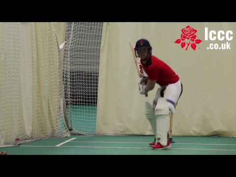 Watch Alex Davies back in the nets