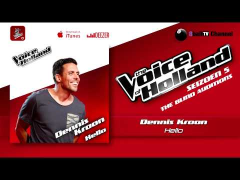 Dennis Kroon - Hello (The voice of Holland 2014 The Blind Auditions Audio)
