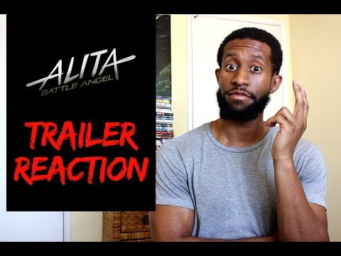Alita: Battle Angel Official Trailer Reaction