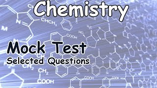 CHEMISTRY - MOCK TEST [ENGLISH] | Junior Assistant  | Group D | Degree Level Exam Coaching |