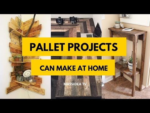 95+ Amazing Pallet Projects Ideas Can Make at Home
