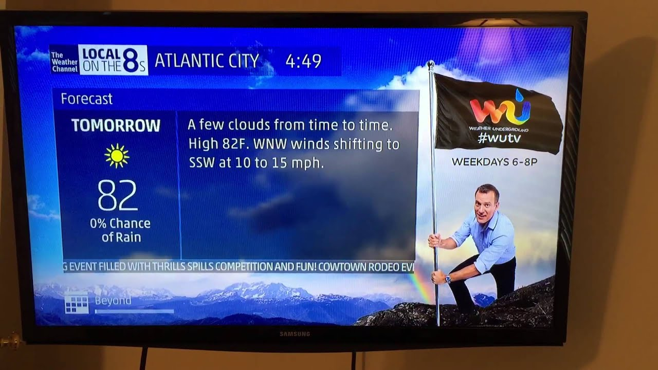 the weather channel local on the 8s atlantic city nj