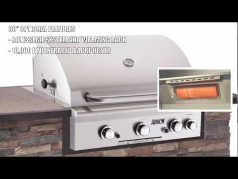 American Outdoor Grill Built In 30 Inch Grill