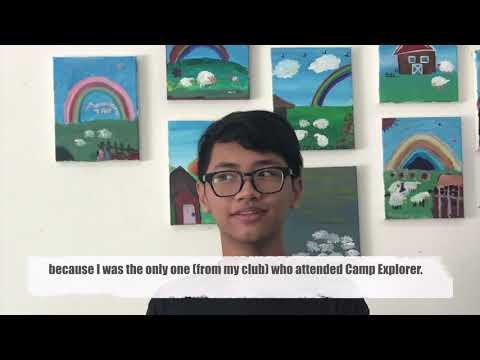 TYA Camp Explorer 2018 (Pre-Camp)